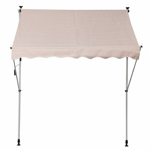 Sonakshi 150 W X 200m D Retractable Patio Awning By Sol 72 Outdoor
