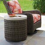 Cypress Point Ocean Terrace Round End Table