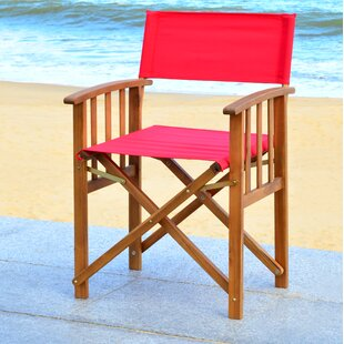 Ines Folding Patio Dining Chair (Set of 2)