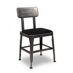 distressed metal furniture. unique metal bistro metal side chair inside distressed furniture