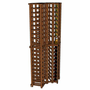 Premium Cellar Series 84 Bottle Floor Wine Rack