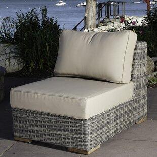 Corsica Armless Chair with Cushions