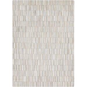 Harvey white / Medium Gray Area Rug