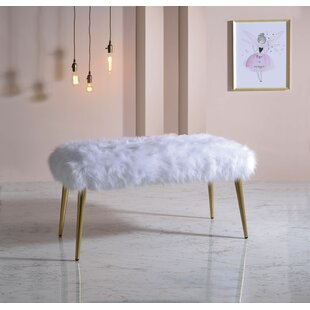 Cherish Upholstered Bench by Everly Quinn Discount
