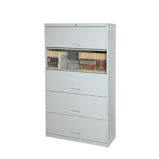 Stak-N-Lok 100 Series 5 Door 24 W Letter Size and Locking High Cabinet