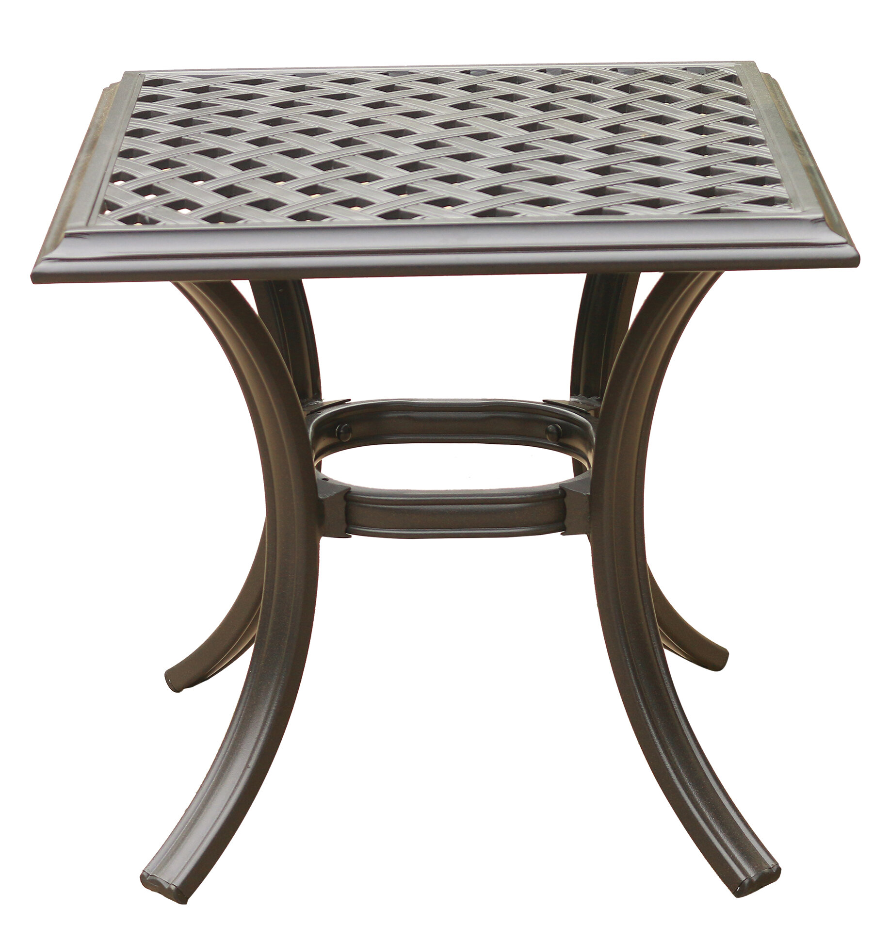Darby Home Co Dalessio Standard Aluminum Side Table Reviews Wayfair