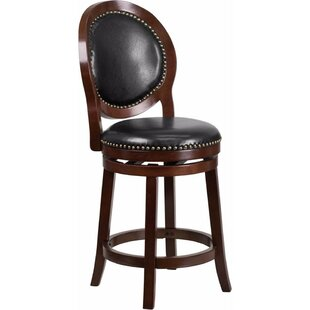 Jeremiah 26.5'' Swivel Bar Stool DarHome Co