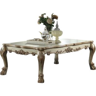 Astoria Grand Fatima Wood Coffee Table