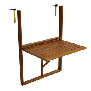 Gastelum Foldable Wooden Balcony Table By Sol 72 Outdoor