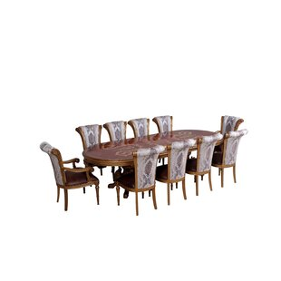 Phaidra 9 Piece Extendable Dining Table Astoria Grand