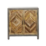 Wong 2 Door Accent Cabinet by Union Rustic