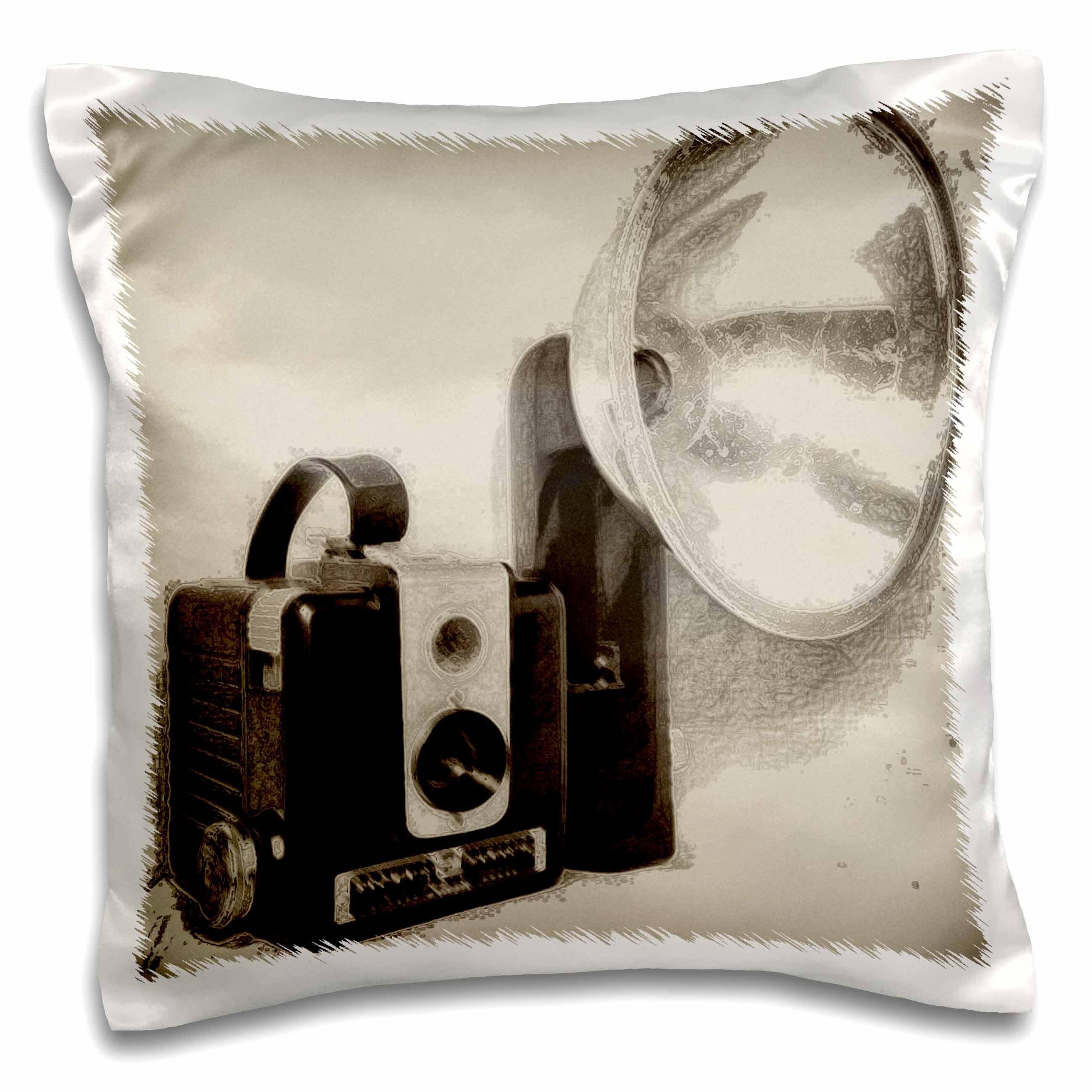 East Urban Home Vintage 1950s Camera Throw Pillow Cover Wayfair