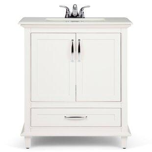 Burnam 31 Single Bathroom Vanity Set by Charlton Home