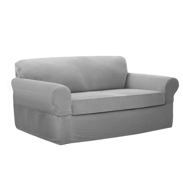 Loveseat Slipcovers You\'ll Love | Wayfair