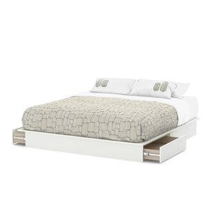 South Shore Step One Storage Platform Bed
