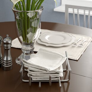 Metal Flat Napkin Holder