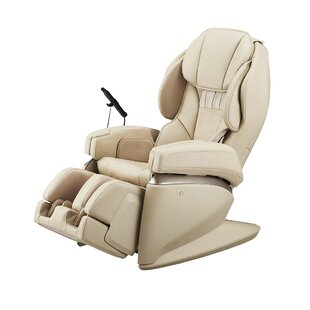 4D Ultra Premium Reclining Heated Full Body Massage Chair with Ottoman