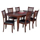 Besse 7 Piece Wood Dining Set by Red Barrel Studio®