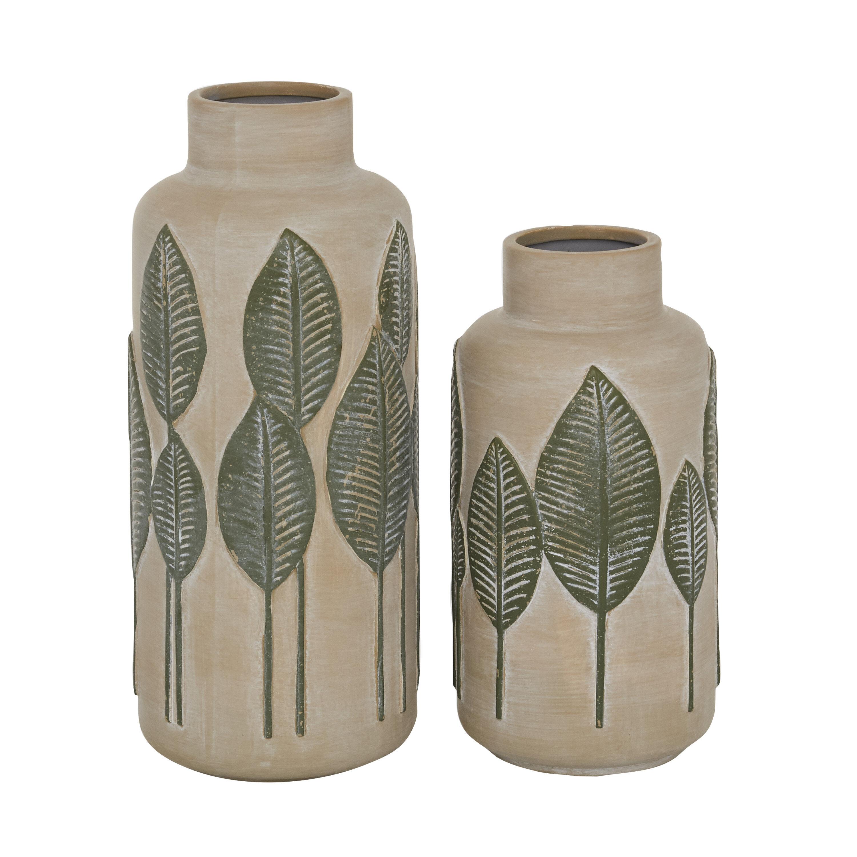 Cottage Country Green Vases Urns Jars Bottles You Ll Love In 2021 Wayfair