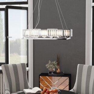 Eriq 8-Light Shaded Chandelier by Willa Arlo Interiors