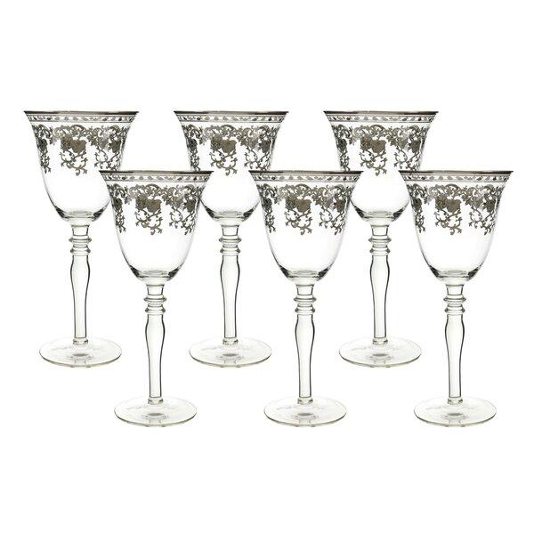 Mercer41 Probst 10 Oz Glass Goblet Reviews Wayfair