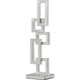 Modern mirrored furniture Mirror Style Chaya Abstract Geometric Beveled Edge Mirrored Sculpture Allmodern Modern Contemporary Mirrored Furniture Allmodern