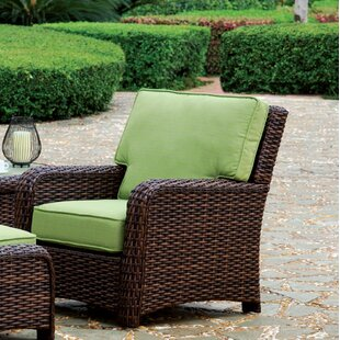 Saint Tropez Wicker End Table