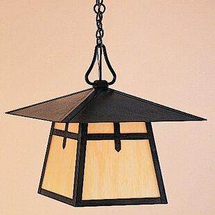 Arroyo Craftsman Carmel 1-Light Outdoor Hanging Lantern