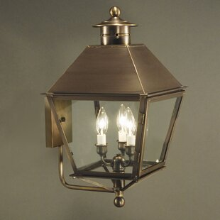 Best Price Jamestown 3-Light Outdoor Sconce By Northeast Lantern