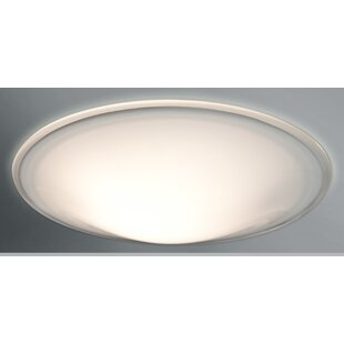 Luma 3-Light LED Outdoor Flush Mount by Besa Lighting