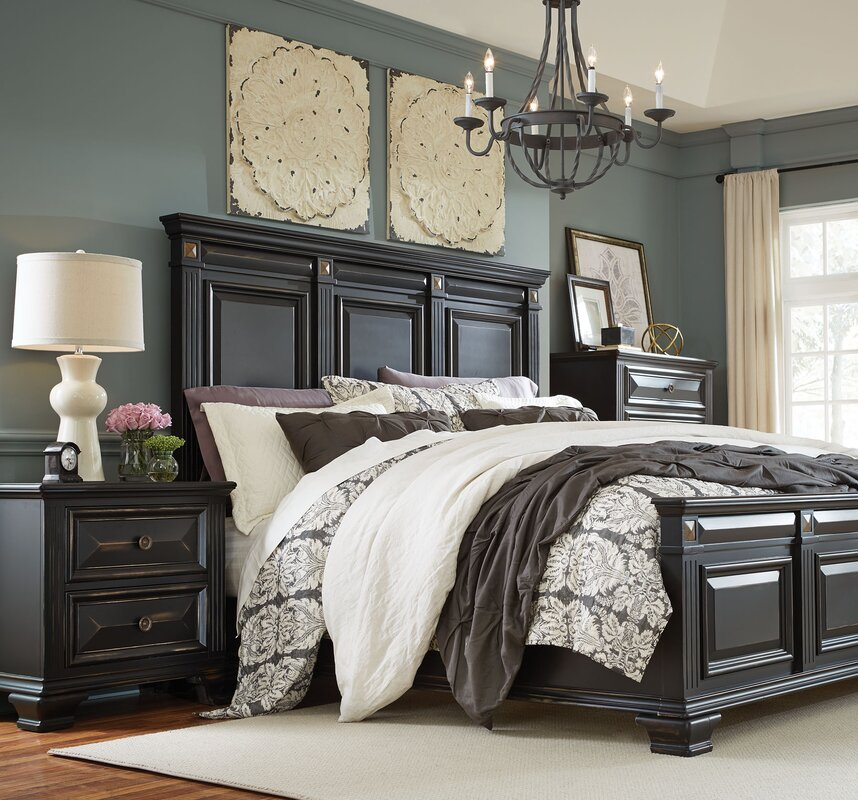 Darby Home Co Petronella Panel Configurable Bedroom Set ...