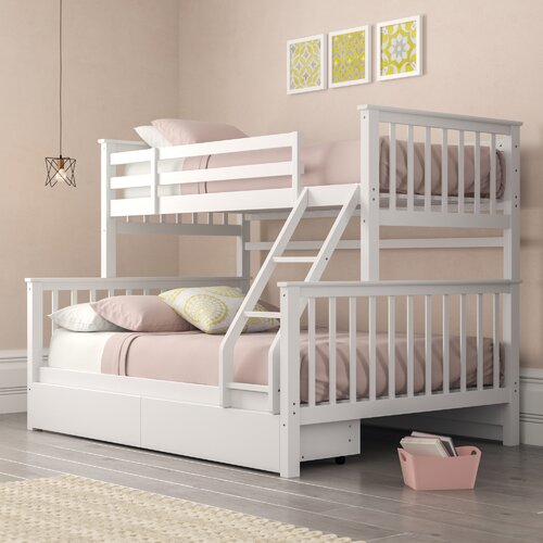 Thomson Single Triple Sleeper Bunk Bed with Drawers