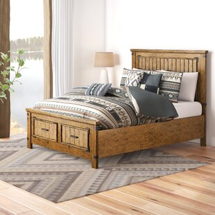 Hartford Solid Wood Storage Platform Bed