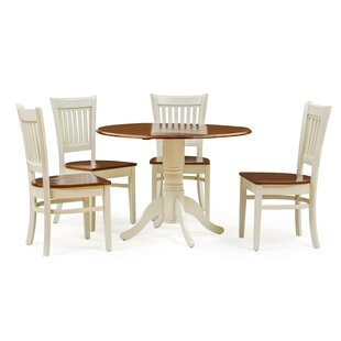 Thornhill 5 Piece Drop Leaf Dining Set by Alcott Hill Spacial Price