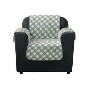 Furniture Flair Box Cushion Armchair Slipcover by Sure Fit