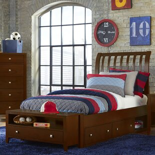 Susan Sleigh Bed with Drawers