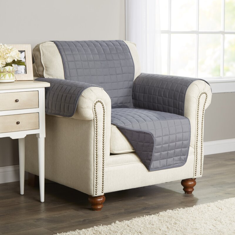 Beautiful Wayfair Basics Box Cushion Armchair Slipcover