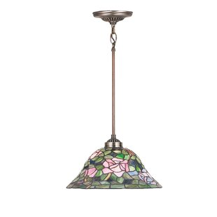 Meyda Tiffany Tiffany Nouveau 1-Light Cone Pendant