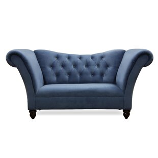 Eve Chesterfield Loveseat