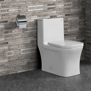 Order Concorde® Dual-Flush Square One-Piece Toilet (Seat Included) By Swiss Madison