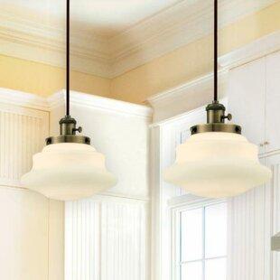 Savings 1-Light Schoolhouse Pendant By Westinghouse Lighting