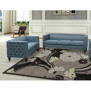 Isenhour 2 Piece Living Room Set