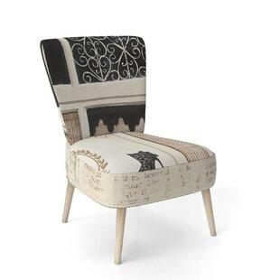 Paris Diva Shoes Painting Side Chair