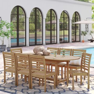 Flinn 9 Piece Dining Set