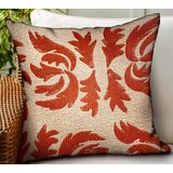 Glaspie Paisley Luxury Indoor/Outdoor Lumbar Pillow