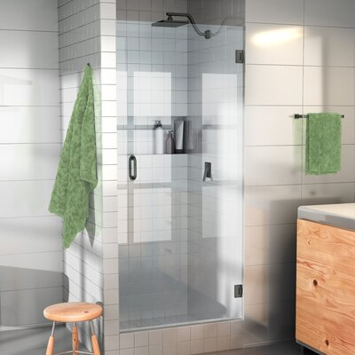 Glass warehouse 24 x 78 hinged frameless shower door wayfair 24 x 78 hinged frameless shower door planetlyrics Image collections