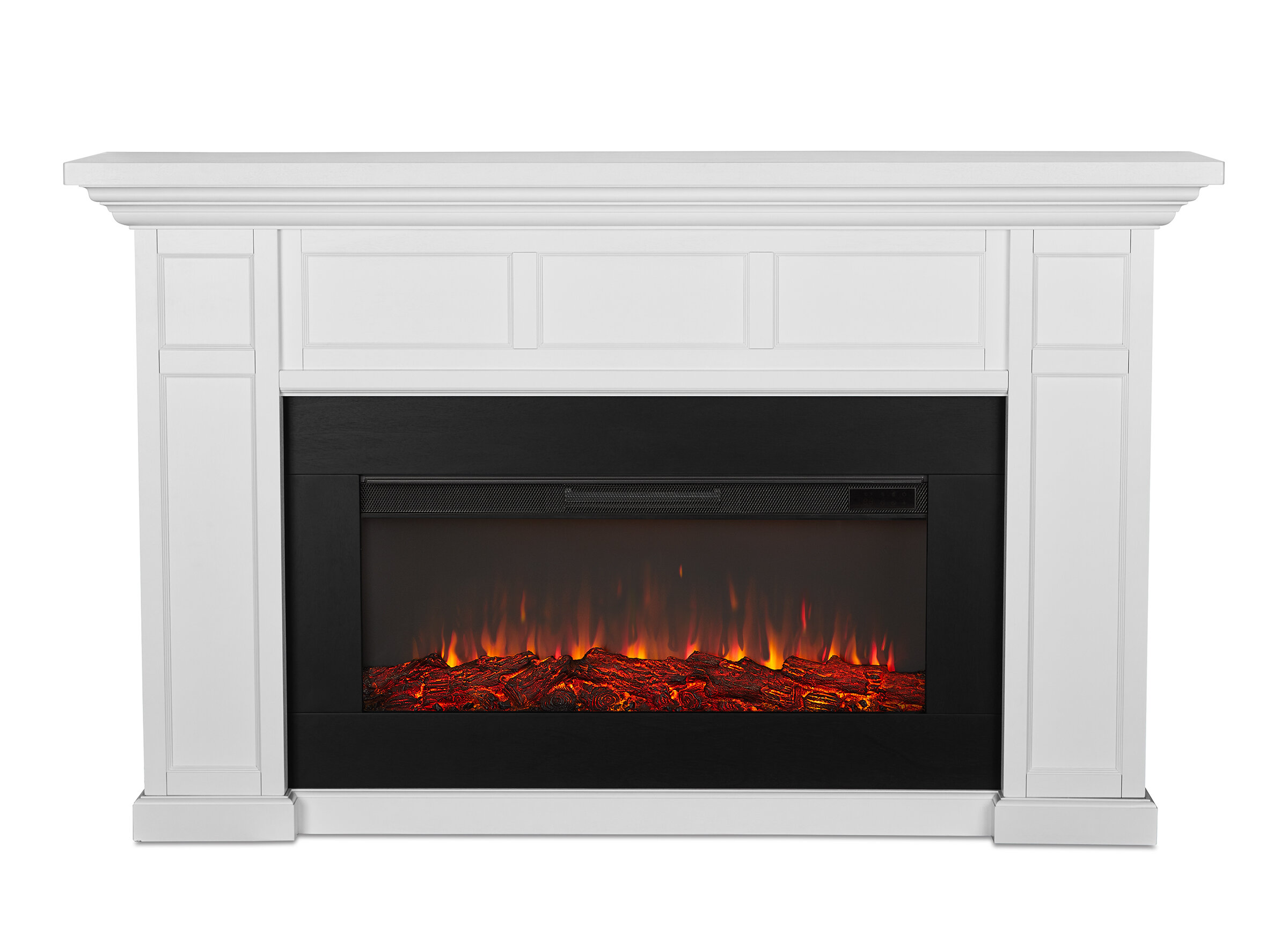 Real Flame Alcott Landscape Electric Fireplace Reviews Wayfair