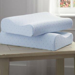 Alwyn Home Memory Foam Contour Pillow (Set of 2)