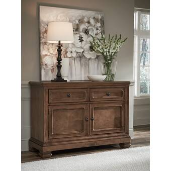 Charlton Home Jarett 60 Wide 2 Drawer Sideboard Reviews Wayfair
