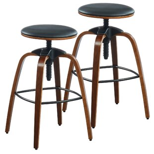 Aust Adjustable Height Swivel Bar Stool (..
